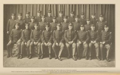 Cadet Officers of the Carlisle Indian School