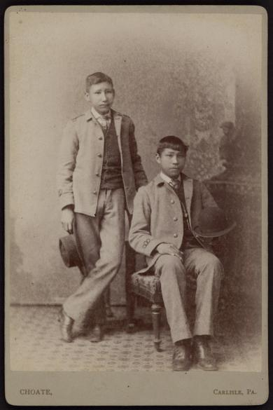 Two Students, c.1886