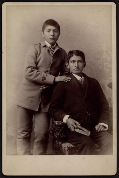 James H. Miller and Francis H. Ortiz, c.1886