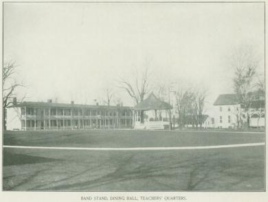 Band Stand, Dining Hall, and Teachers' Quarters