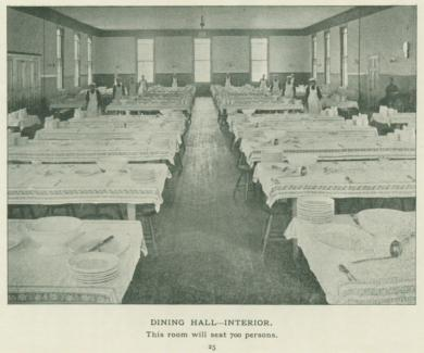 Interior of the Dining Hall