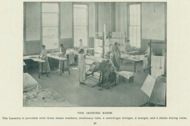 School Ironing Room