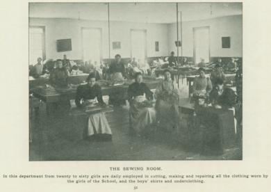 The School Sewing Room