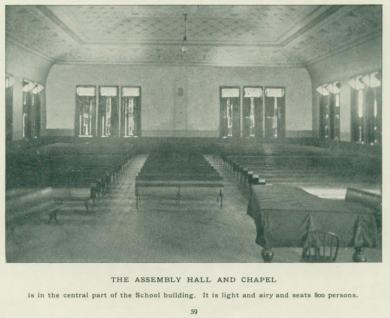 Assembly Hall and Chapel