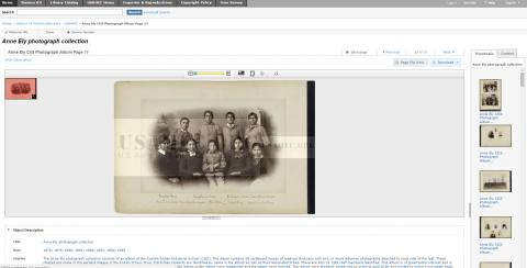 Anne Ely Photograph Album in U.S. Army Heritage and Education Center Digital Collections