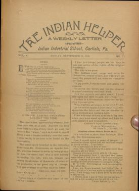 The Indian Helper (Vol. 11, No. 51)