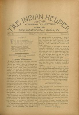 The Indian Helper (Vol. 12, No. 42)