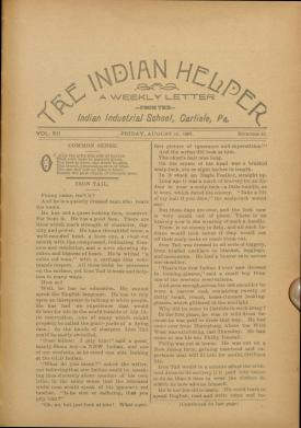 The Indian Helper (Vol. 12, No. 44)