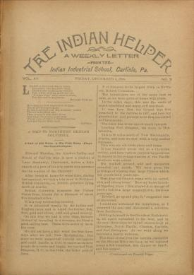 The Indian Helper (Vol. 12, No. 9)