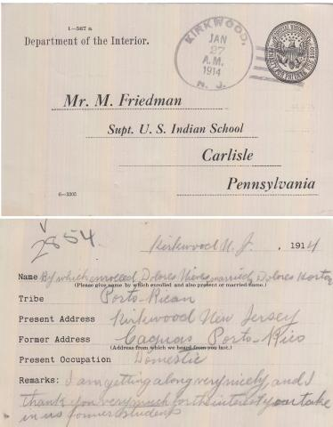 Delores Nieves Student File