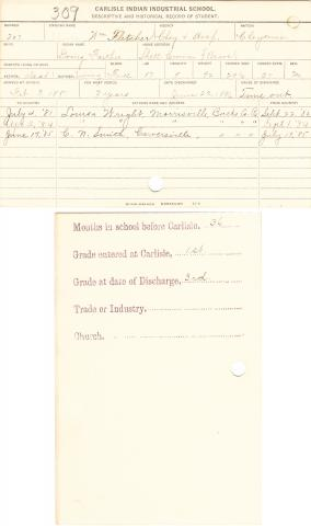 William Fletcher (Going Farther) Student File
