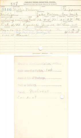 Willie Nelson Student File