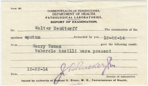 Henry Tomah Student File