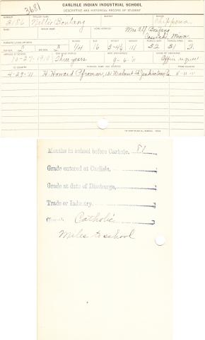 Nellie Boutang Student File