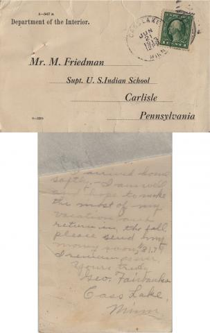 George Fairbanks Student File