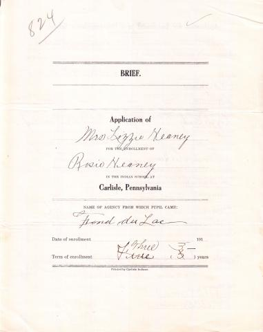 Rose Heaney Student File