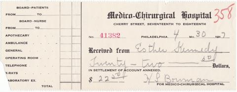 Esther Kennedy Student File