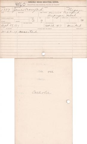 James Crawford Student File