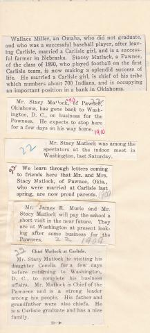 Stacy Matlock Student File