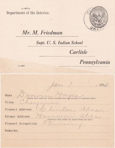 Darwin Hayes Student File