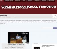 Carlisle Indian School Symposium