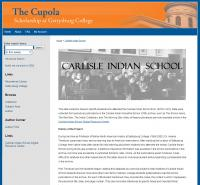 Carlisle Indian School Students Database