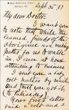 Letter from Richard H. Pratt to Cornelius R. Agnew, September 30, 1887