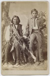 Chief Big Horse and Hubbell Big Horse [version 2], c.1880
