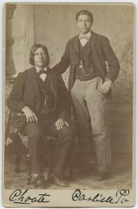 Standing Bear and Luther Standing Bear [version 2], c.1881