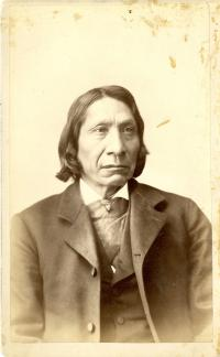 Red Cloud (pose #2), 1883