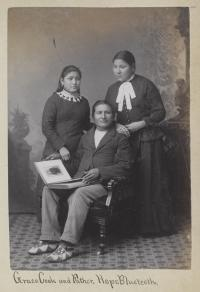 Cook, Grace Cook, and Hope Blue Teeth [version 2], c.1884