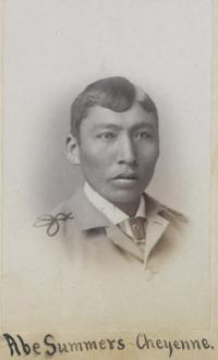 Abe Sommers, c.1883