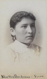 Martha Bordeaux, c.1883