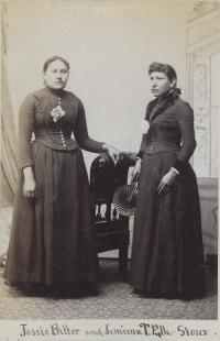 Jessie Bitter and Jemima Two Elks [version 2], c.1890