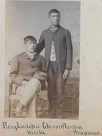 Percy Zadoka and Cleaver Warden, c.1884