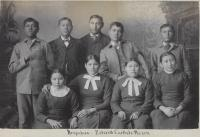 Nine Arapaho students [version 2], c.1881