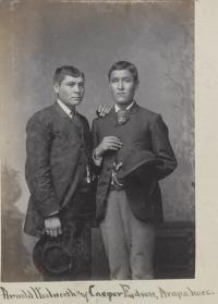 Arnold Woolworth and Casper Edson [version 2], c.1885