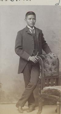 Unidentified male student #26, c.1890