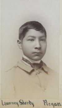 Lawney Shorty, c.1891