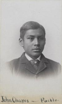 John Menual Chaves, c.1884