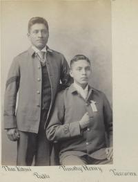 Thomas Kitewmi and Timothy Henry [version 2], c.1892