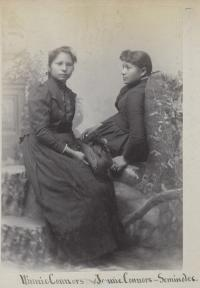 Winnie Conners and Jennie Conners [version 2], c.1887