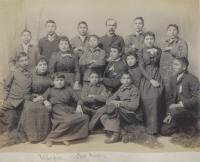 Sixteen Crow students [version 2], 1896