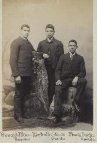 Benajah Miles, Martin Archiquette, and Frank Smith  [version 2], c.1889
