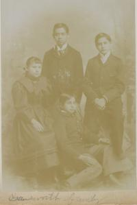 Gansworth Family, c.1893