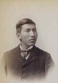 Unidentified male student #34, c.1890