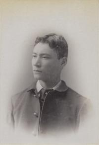 Unidentified male student #32, c.1890