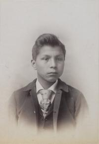 Unidentified male student #33, c.1890