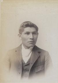 Unidentified male student #35, c.1890