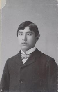 Unidentified male student #36, c.1890